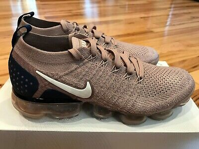 Nike Air Vapormax Flyknit 2 Diffused Taupe Phantom 942842 201 Men's Size 7.5