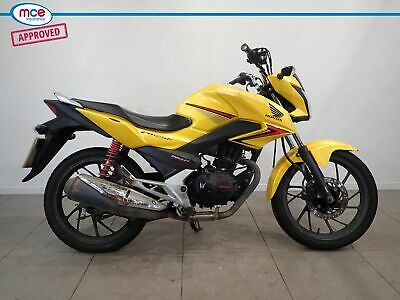 Honda CB 125 GLR Yellow 2016 Spares or Repairs Restoration Project Donor Bike