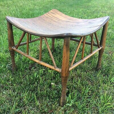 Pleasing 1800 1899 Benches Stools Furniture Antiques Page 2 Pabps2019 Chair Design Images Pabps2019Com