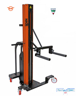 Sollevatore Ruote A Batteria Professionale Spin Tyre Lifter 70