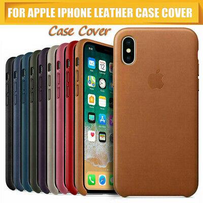 Original Leather Case For Apple iPhone XS XR XS Max Genuine PU OEM Cover Skin US