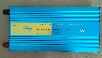 6000W (Peak) 3000W (Continuous) Watts Pure Sine Wave Power Inverter DC 12V