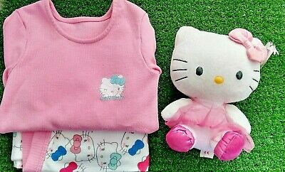 Girls Hello Kitty Pyjama Set Marks & Spencers Age 2-3yrs Ex Display