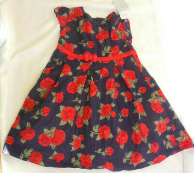 JoJo Maman Bebe Rose Cord Party Dress Age 2-3 Years BNWT    5/10