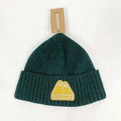 Patagonia Brodeo Cappello Beanie-Beryl Green