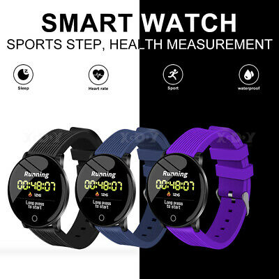 XGODY UK Waterproof Smart Watch Heart Rate Sports Tracker For Huawei iPhone Xmas