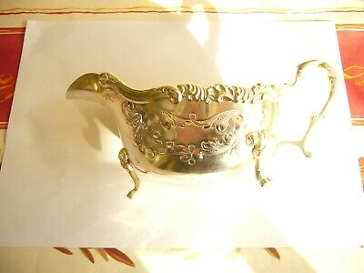 Vintage Silver Plated Sauce Boat By Rideau Plate