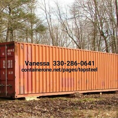 Steel Conex / Storage / Cargo / Shipping Containers