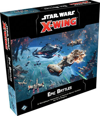 Star Wars X-Wing Epic Battles Multiplayer Expansion Sealed Brand New 2nd Edition