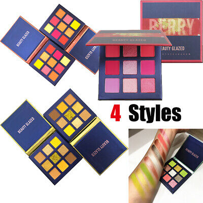 Eye Makeup Matte Mineral  Neon Eyeshadow Eyeshadow Palette Shimmer Shining
