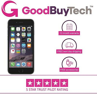 Apple iPhone 6 16GB 32GB 64GB 128GB  Unlocked SIM Free Official Colours