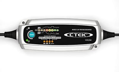 Ctek Mxs 5.0 Test et Charge 12v 5A Smart Batterie Chargeur et Testeur 8 Stage