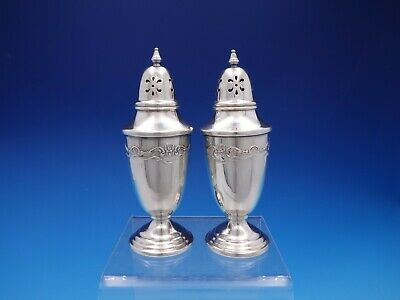French Provincial by Towle Sterling Silver Salt and Pepper Shaker Set (#4376)