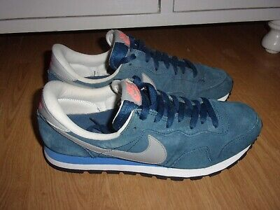 Nike Air Pegasus 83 Royal 'Silver Grey tick' suede mens trainers size 8