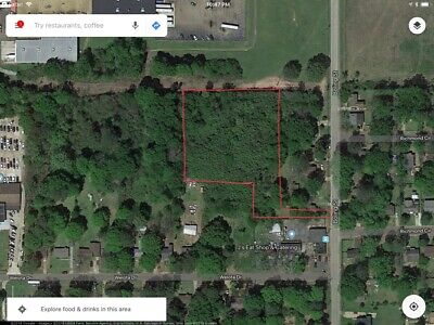 2.4 ACRES of VACANT LAND in HINDS COUNTY, JACKSON, MISSISSIPPI- REDUCED TO SELL!