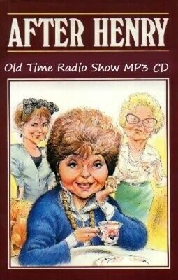After Henry 34 Old Time Radio Comedy Shows MP3 CD 13 Hours