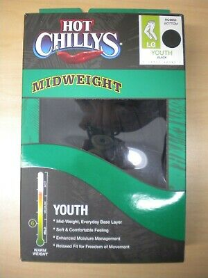 Hot Chillys Base Layer Bottom Youth Size L