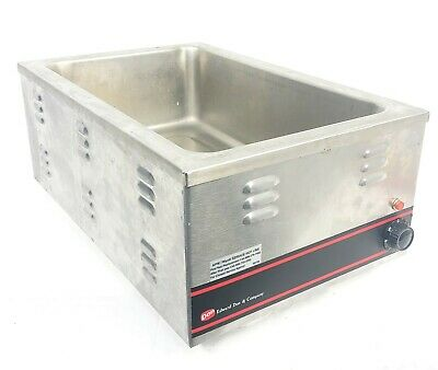 APW Wyott Hot Food Well Warmer Counter Top 54812-D W-3V 120V 1200W Stainless