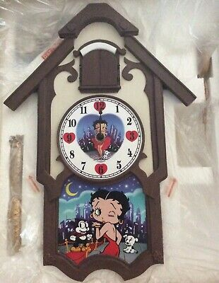 Collectable Betty Boop Cuckoo Clock - NEW