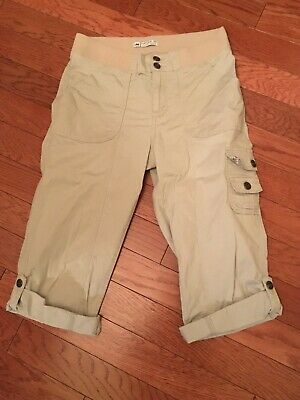 Capri Pants - Women's Size 10 - Lee Natural Fit - Beige - Free Shipping