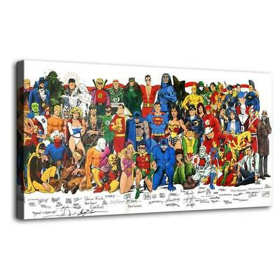 """12""""x24""""Hero of dc HD Canvas prints Painting Home Decor Picture Room Wall art"""