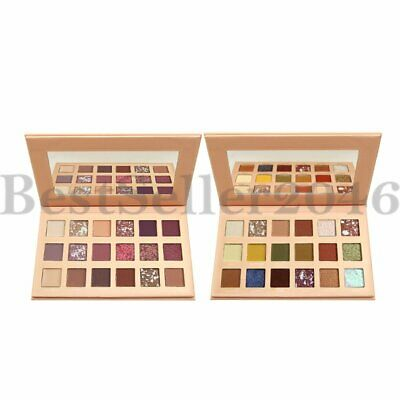 18 Colors Shimmer Matte Pigmented Eyeshadow Palette  Glitter Eye Shadow Makeup