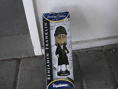 Benjamin Franklin Founding Father Royal Bobbles Bobblehead NEW IN BOX