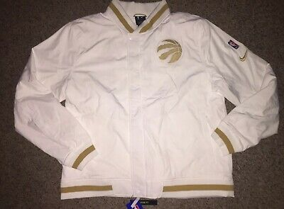 OVO Inspired NBA Toronto Raptors City Edition Bomber Jacket Filled Mens Size XL