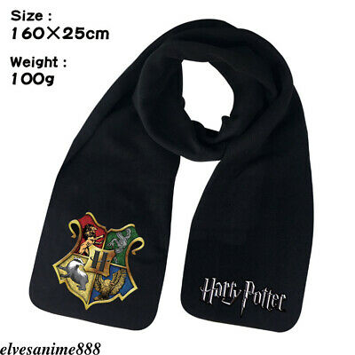 Harry Potter Hogwarts Winter Warm Scarf Print Scarves Boys Girls Muffler Gifts