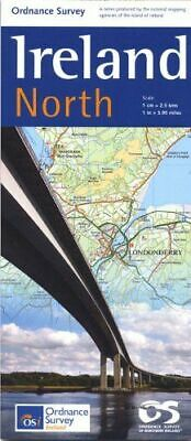 Holiday Map North NEW Ordnance Survey of Northern Ireland