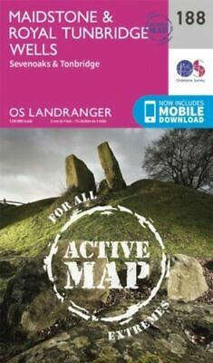 Maidstone and Royal Tunbridge Wells NEW Ordnance Survey