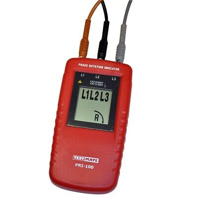 **CLEARANCE** TESTMATE PRI-100 Phase Roatation Indicator