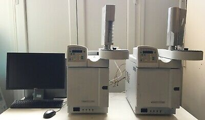 Two Varian 3900 GC's with auto samplers and data system.
