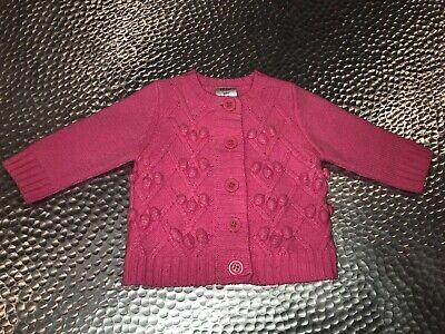 Seed Baby Girls Knit Cardigan Size 3-6 Months