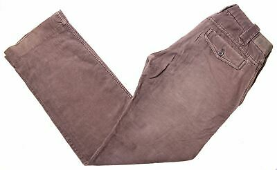 DIESEL Womens Corduroy Trousers W28 L32 Brown Cotton  ND54