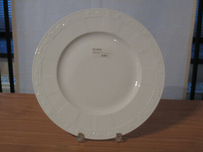 VILLEROY & BOCH *NEW* CAMEO WEISS BLANC Assiette plate 27cm BONE CHINA