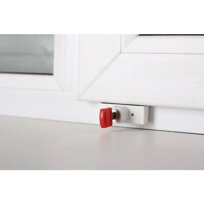 BSL Inward Opening Window Lock With Key - Silver - Warehouse Clearance