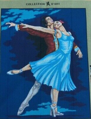 Tapestry - Printed Canvas - 'Ballet' - Made in EU - Collection D'Art