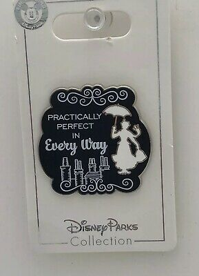 Disney Parks Trading Pin Mary Poppins Practically Perfect in Every Way Umbrella