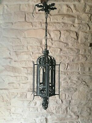 Vintage French Porch Light Gothic medieval