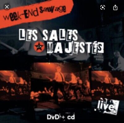 Cd DVD Les Sales Majestes Week End Sauvage