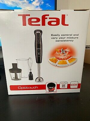 Tefal Optitouch HB833840 Hand Stick Blender 600W 1 Year Guarantee