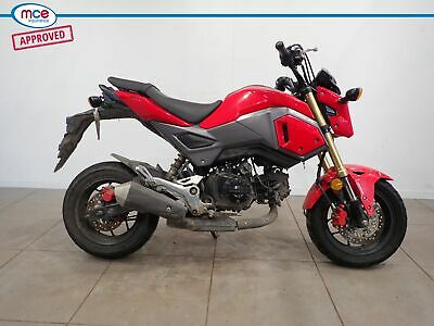 Honda MSX 125 Red Grom 2018 Spares or Repair Project Donor Bike Damaged