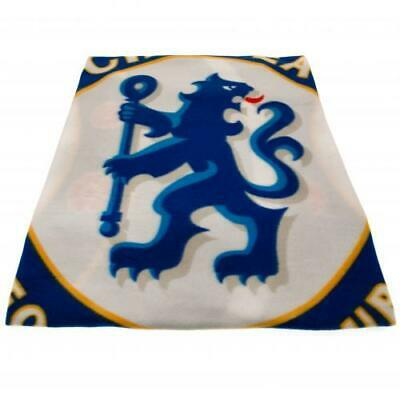 Chelsea FC Official Crested Fleece Blanket Throw The Blues Gift Present