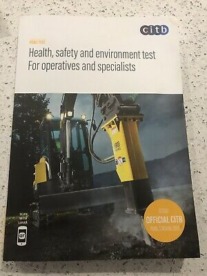 CITB Health, Safety & Environment Test for Operative & Specialist 2019 GT100/19