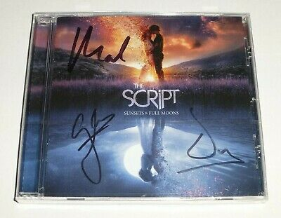 The Script : Sunsets & Full Moons - * Signed * Cd Album, Limited Edition, And