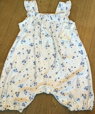 Mothercare Peter Rabbit Baby Girls Romper/short All In One 9-12 Months 🐰