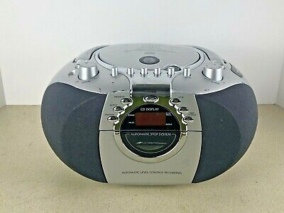 Durabrand CD-203 Stereo Compact Disc Player/Cassette Player/Radio