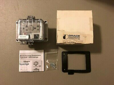 New In Box Grace Graceport Ethernet Interface Gfci Outlet P-R2-K3Rf3