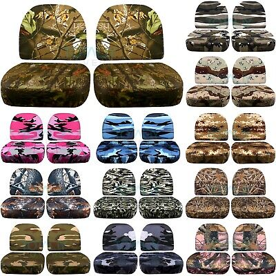 Ford Ranger Camouflage Jump Seat Covers Tree/Hunting/Desert/City+ 16 Camo Prints